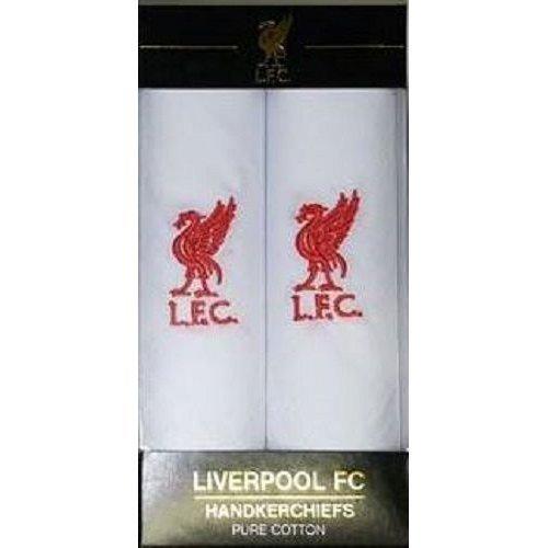 Liverpool Handkerchiefs - 2 Pack Liverpool Pure Cotton Hankies