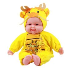 Lifelike Realistic Baby Doll/ Zodiac Doll/ Soft Body Play Doll,Drogon Baby Doll