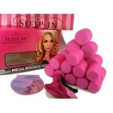 Sleep in Rollers Mega Bounce Gift Set + FREE Extra Large Hair Net