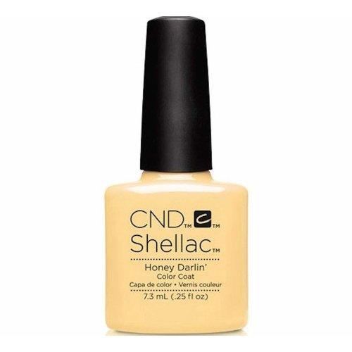 CND Shellac Nail Polish - Honey Darlin'