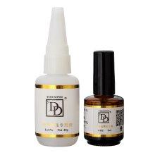 2Pcs/Set Nail Art Accessories Glue Stick Special Diamond Drill Glue DD Curing Solidify Agent
