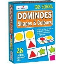 Cre0651 - Creative Pre-school - Dominoes-shapes & Colours