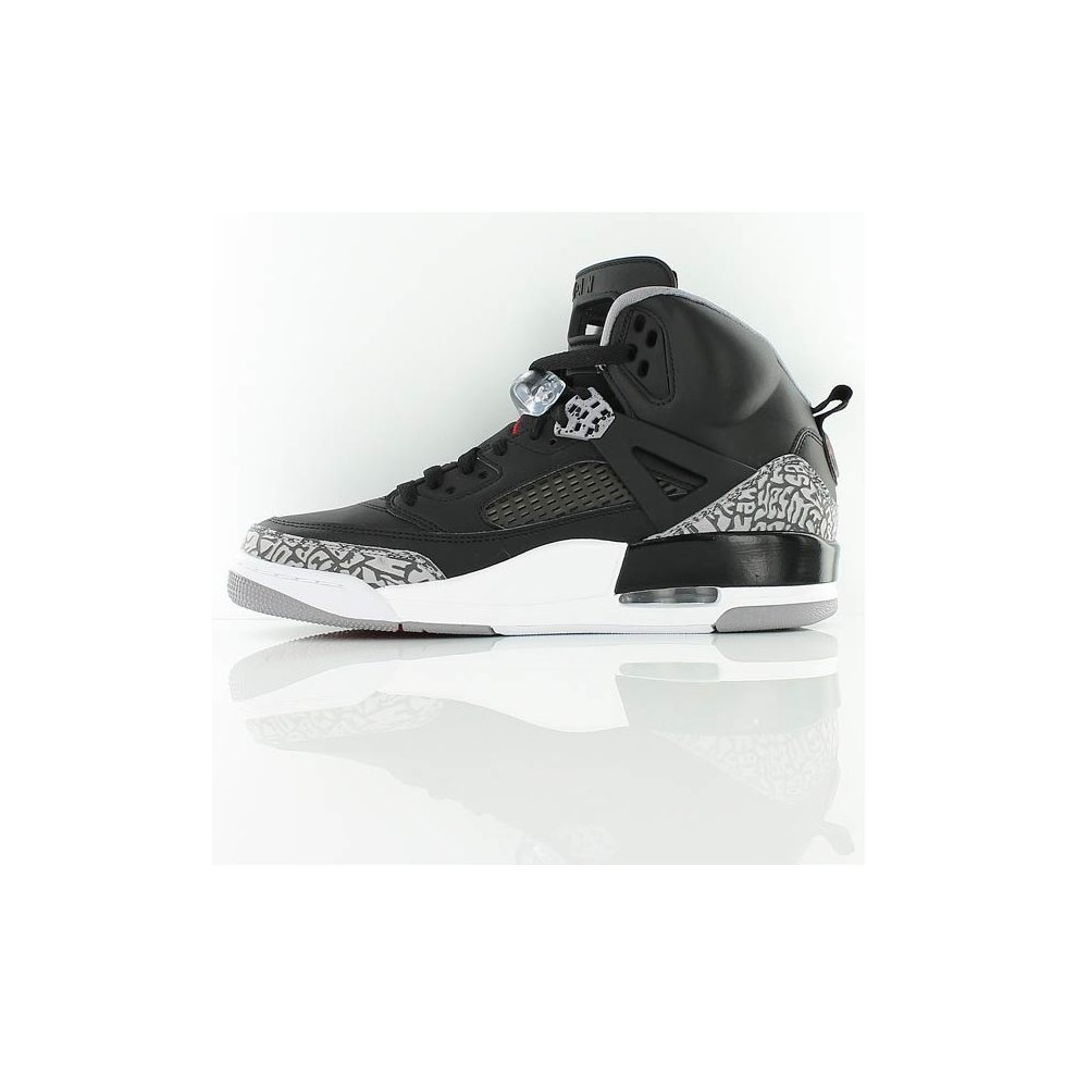 online store 675a9 e22fe ... Nike Air Jordan Spizike Black Red Cement Size 9 UK 315371 034 - 2 ...