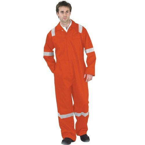 "Click CFRBSNDOR36 Flame Retardant Nordic Design Boiler Suit Orange 36"""