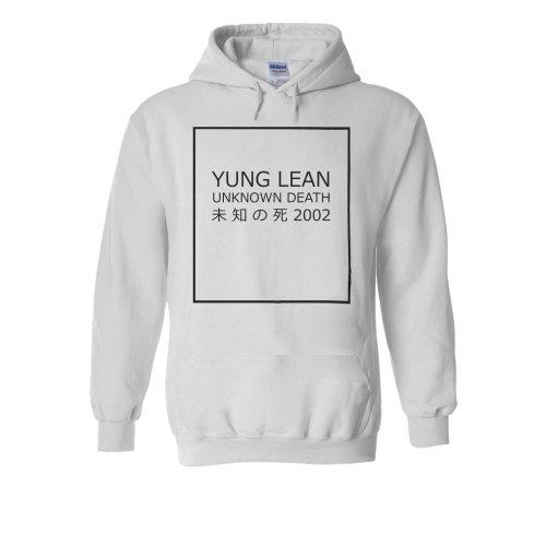 Yung Lean Unknown Death ? ? ?? Japan Novelty White Men Women Unisex Hooded Sweatshirt Hoodie
