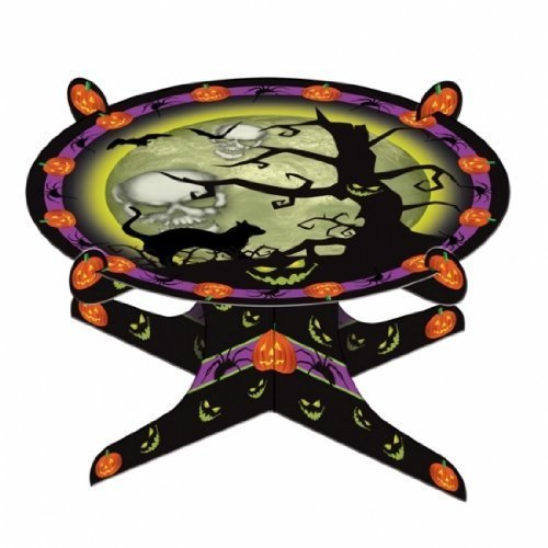 Halloween Single Tier Cake Stand 25cm x 13cm h - Tableware 995912
