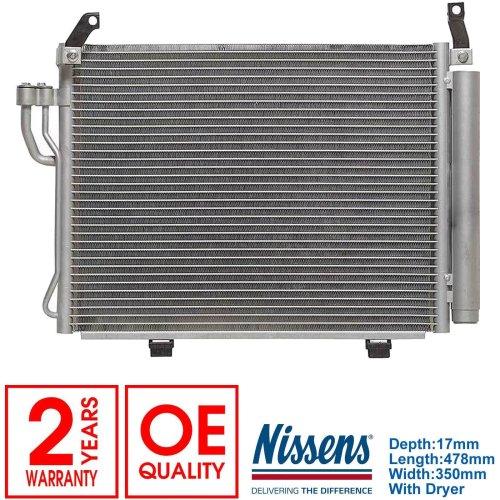 FOR HYUNDAI I10 1.2 2008-> A/C Air Condenser / Air Conditioning Radiator