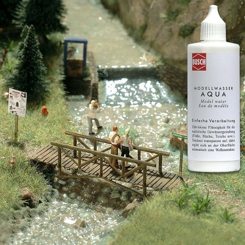 OO/HO Scene - Model Water - Busch 7589 P3