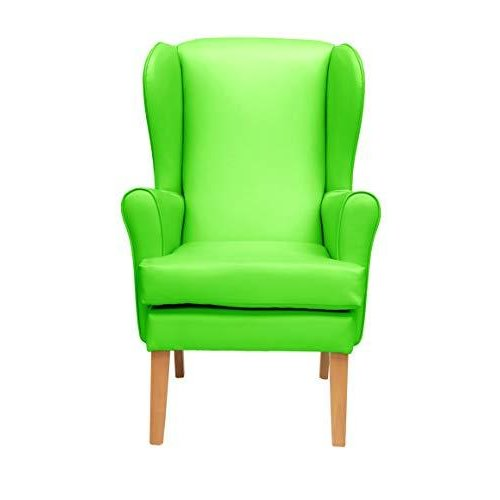 MAWCARE Morecombe Orthopaedic High Seat Chair - 19 x 21 Inches [Height x Width] in Manhattan Lime (lc21-Morecombe_m)
