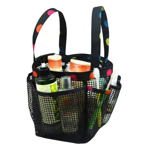 Outdoor Quick Dry Mesh Shower Accessories Tote With Double Handles