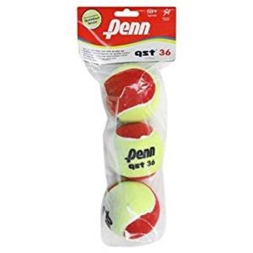 Penn 55081 QST 36 Felt Poly Tennis Balls