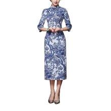 Elegant Oriental Cheongsam Qipao Chinese Style Costume Dresses, #03