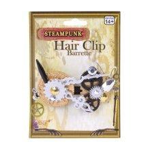 Fancy Dress Steampunk Hair Clip -  fancy dress hair clip steampunk accessory ladies costume victorian WOMENS LADIES STEAMPUNK VICTORIAN HAIR CLIP