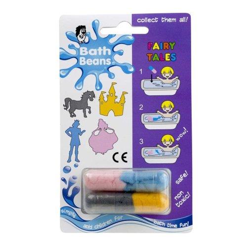 FAIRY TALE - Bath Beans Sponge Toy Capsules - Bath Time Fun for Children