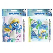 Smurfs Notebook & Pen Set -
