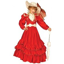Girls Clementina Dress Red Child 158cm Costume Large 11-13 Yrs (158cm) For Wild