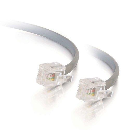 C2G 5m RJ11 6P4C Straight Modular Cable
