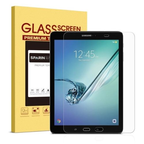 Arclyte Technologies TA04773 Tempered Glass Screen Protector for Samsung Galaxy Tab, Clear