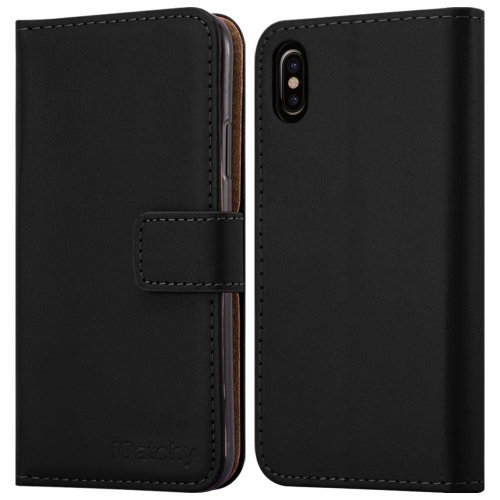 For iPhone XS MAX Leather Wallet Flip Holder Case