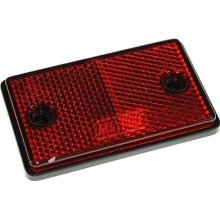 Maypole Oblong/rectangular Reflectors With Screw Holes Mp8723ss | Red - -  red maypole reflectors mp8722ss oblong