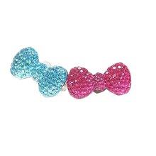 5 PCS Kids Jewelry Rhinestone Adjustable Rings Children Pretend Toy Style Random
