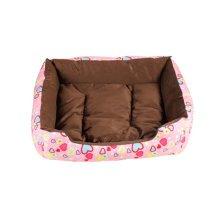 Soft Warm Indoor Quiet Time Pet Bed/sofa,NO.1,pink