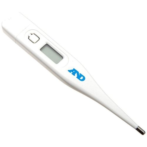 AandD Medical Digital Thermometer - For oral underarm or rectal use (DT502EC)