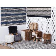 Rug - Carpet - Wool - Handmade - Dark Grey - PAYAS