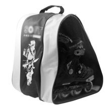 Ice Skate Backpack Skate Carry Bag Skate Blade Shoe Bag-13Random Pattern