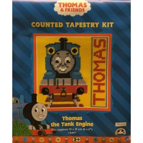 "Thomas The Tank Engine Sampler Tapestry / Needlepoint Kit (1) - DMC - 6"" x 6"""