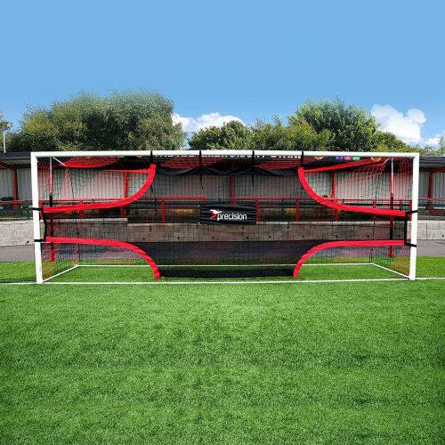 Precision Training Football Soccer Target Practice Training Shot Goal Net 24'x8'