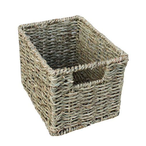 Mini Rectangular Seagrass Storage Basket