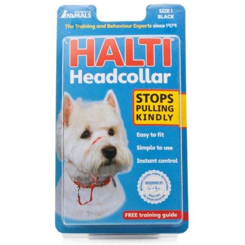 Halti Headcollar Padded Black Size 1