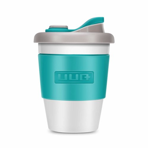 0655a0c377f Reusable Coffee Cup UUQ-Coffee Cups with Lids, Can Be Used As a Travel Mug  or Office Coffee Mug, Lightweight, Eco Friendly, Non-Slip Silicone, ...