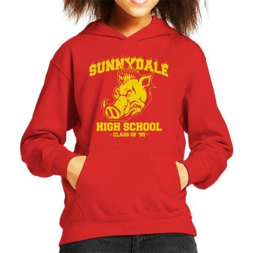 Buffy Inspired Sunnydale High School Kid's Hooded Sweatshirt