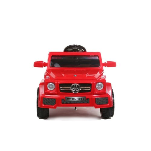 12V MERCEDES G WAGON STYLE KIDS ELECTRIC RIDE ON CAR JEEP RED
