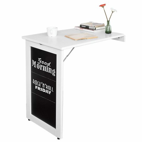 FWT20-W Folding Wall-Mounted Table With Blackboard | Drop Leaf Table