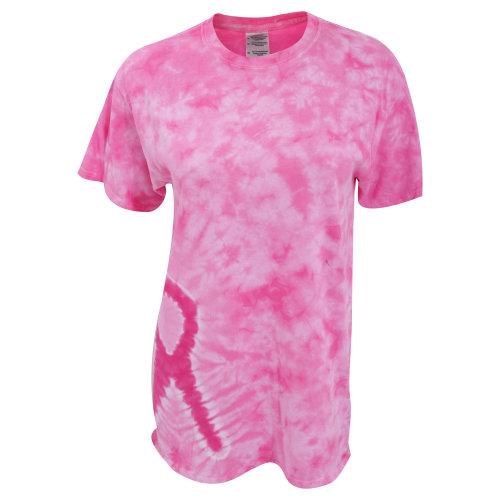 Tie-Dye Womens/Ladies Short Sleeve Awareness T-Shirt