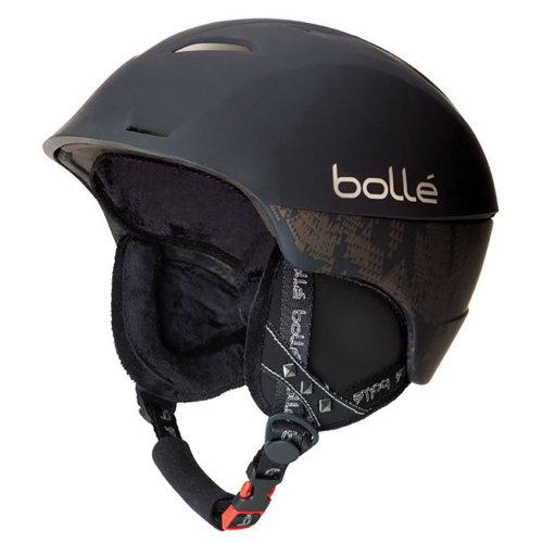 Bolle Synergy Helmet - Soft Black-54-58cm