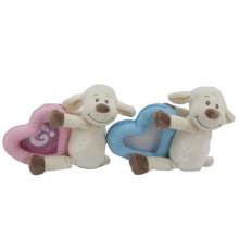 8' Lamb Soft Toy With Picture Frame -