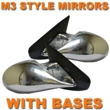 Chrome M3 Style Pair Manual Mirrors  Chrysler Pt Cruiser 01-05