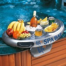 2x Life Floating Spa Bar | Inflatable Hot Tub Side Tray