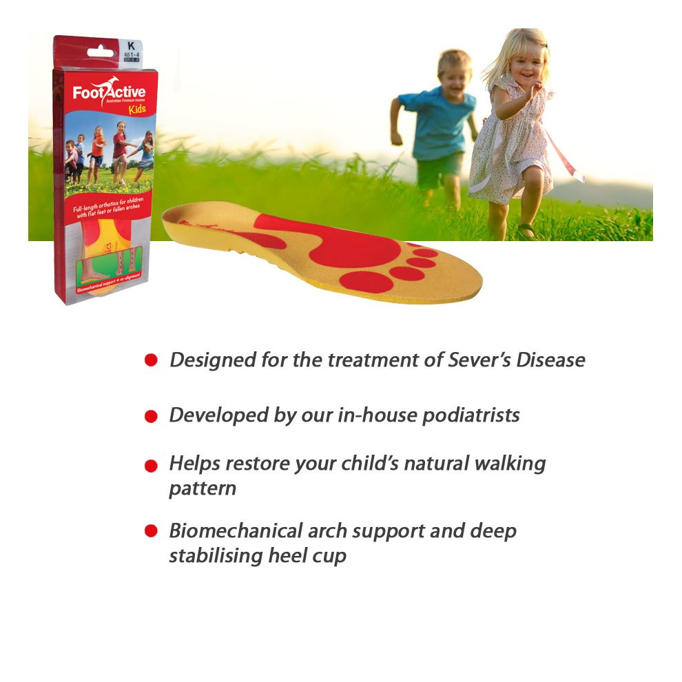 79ab825a ... FootActive KIDS Full Length insoles (UK 1 - 2½) - 3 ...