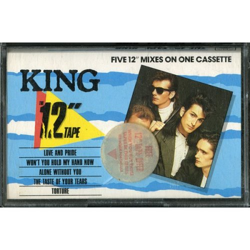 """The 12"""" Tape (Five 12"""" Mixes On One Cassette) [Audio Cassette] King"""