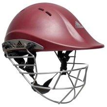 Adidas Premiertek Junior Cricket Helmet, Maroon 52-55cm