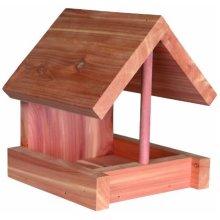 Wild Bird Food Dispenser, Cedarwood - 16 × 15 × 13cm - 13cm Trixie Dispenser -  bird food cedarwood 16 15 13 cm trixie wild dispenser house new