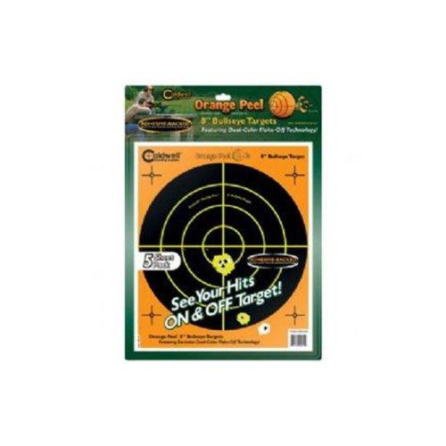 Caldwell 805-645 Orange Peel Bullseye 8 in. Sheets