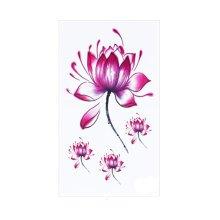8 Sheets Waterproof Temporary Tattoos Non-Tox Body Art Tattoo Sticker, Flowers