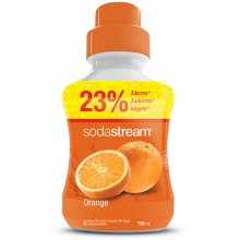 Sodastream Concentrate Syrup 750ml. Orange