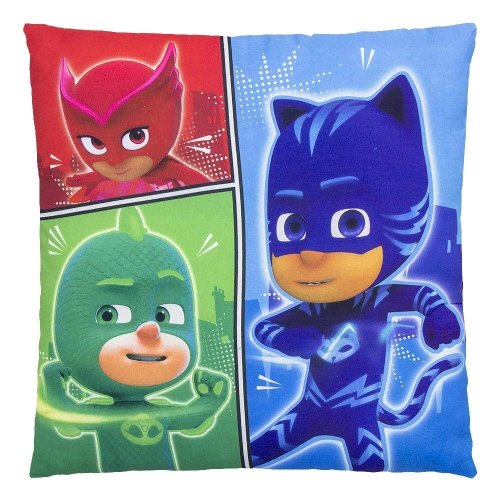 PJ MASKS Square COMIC STRIP Pillow Cushion 40cm x 40cm